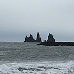 Reynisdrangar ocean cliffs | Photo taken by Eneken M