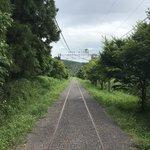 Old railway tracks    Photo taken by Pui san C