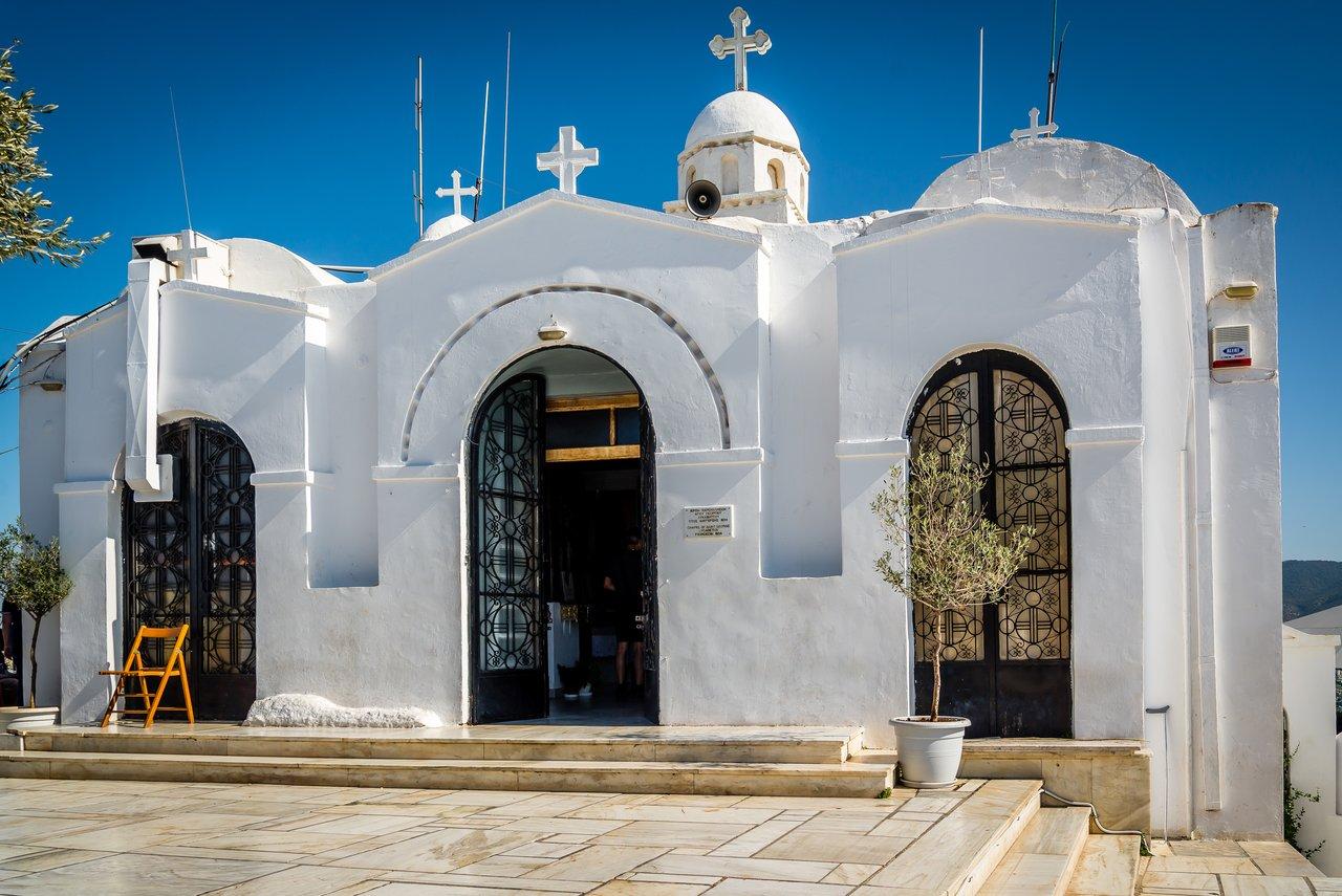 Mount Lycabettus monastery | Photo taken by David B