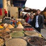At the market | Photo taken by Monique S