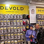 We found Devold products | Photo taken by Mark M