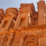 Monastery in Petra | Photo taken by Aung N