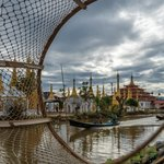 View of Inle Lake thru the nets of the net fisherman. | Photo taken by Tack S