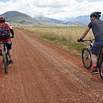 Biking to Moray! | Photo taken by Angela I