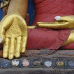 Budha's hands | Photo taken by Dorine H