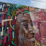 Street art in Cartagena | Photo taken by Ella W