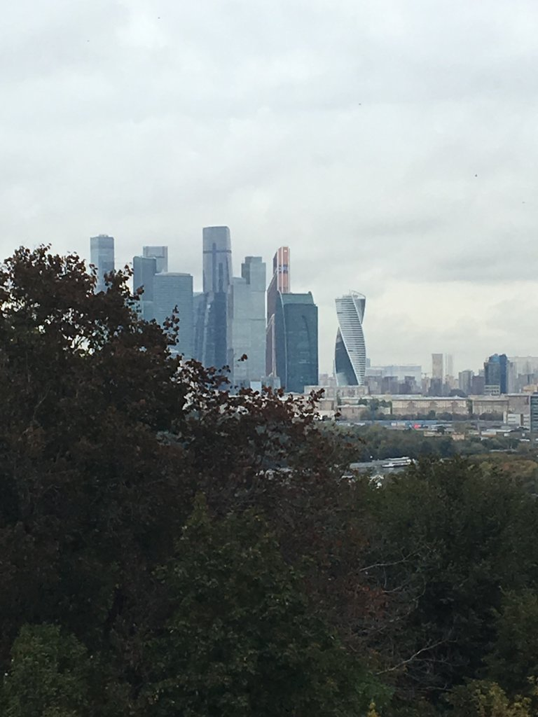 Moscow skyline | Photo taken by Diane P