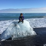 Ice beach | Photo taken by Anette U