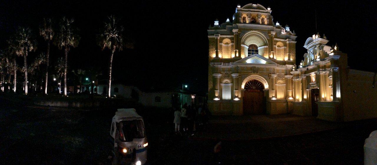 Antigua at night | Photo taken by BRAD K
