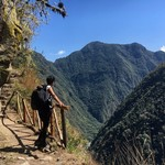 Inca trail | Photo taken by Danica P