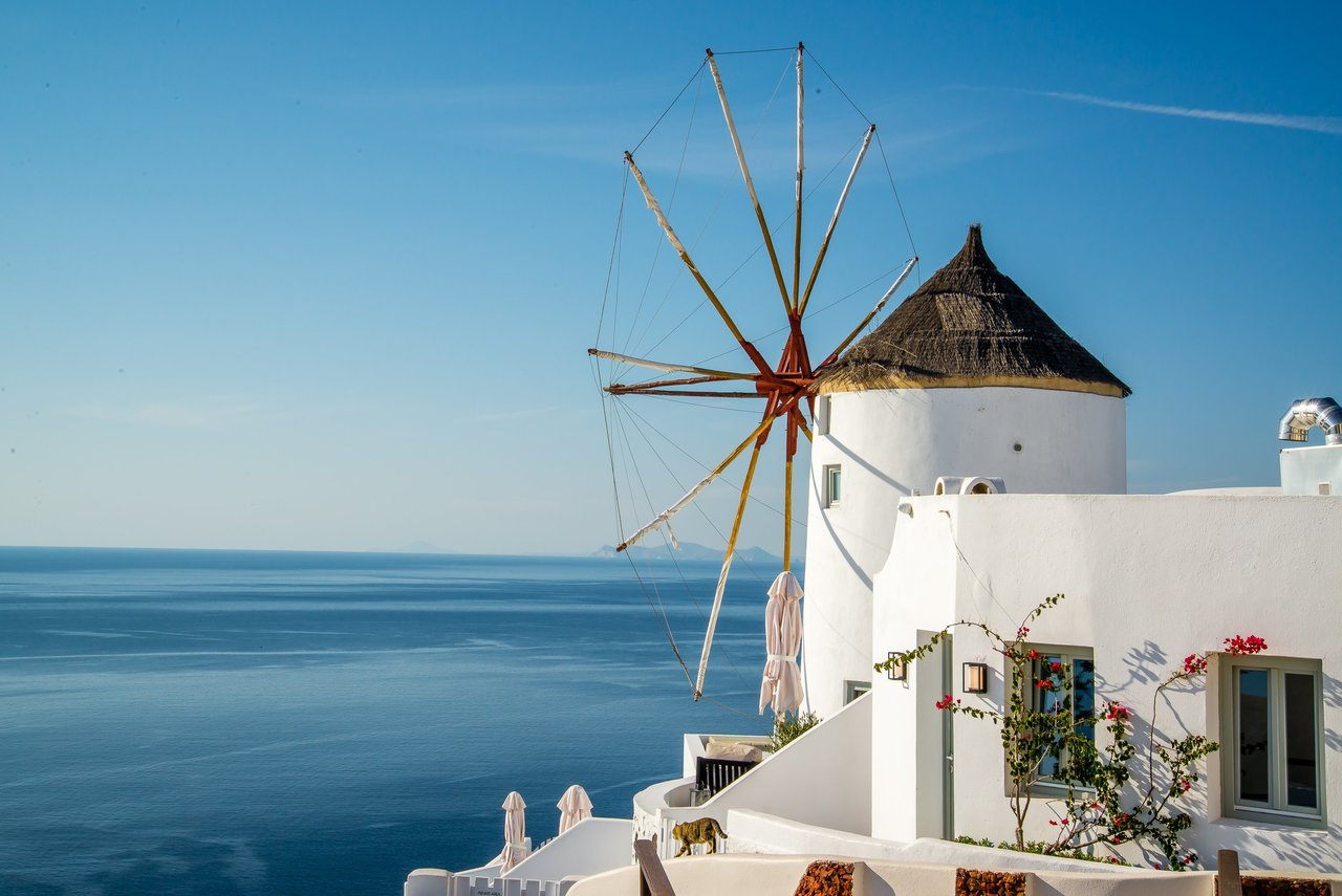 Oia's most photographed windmill! | Photo taken by David B