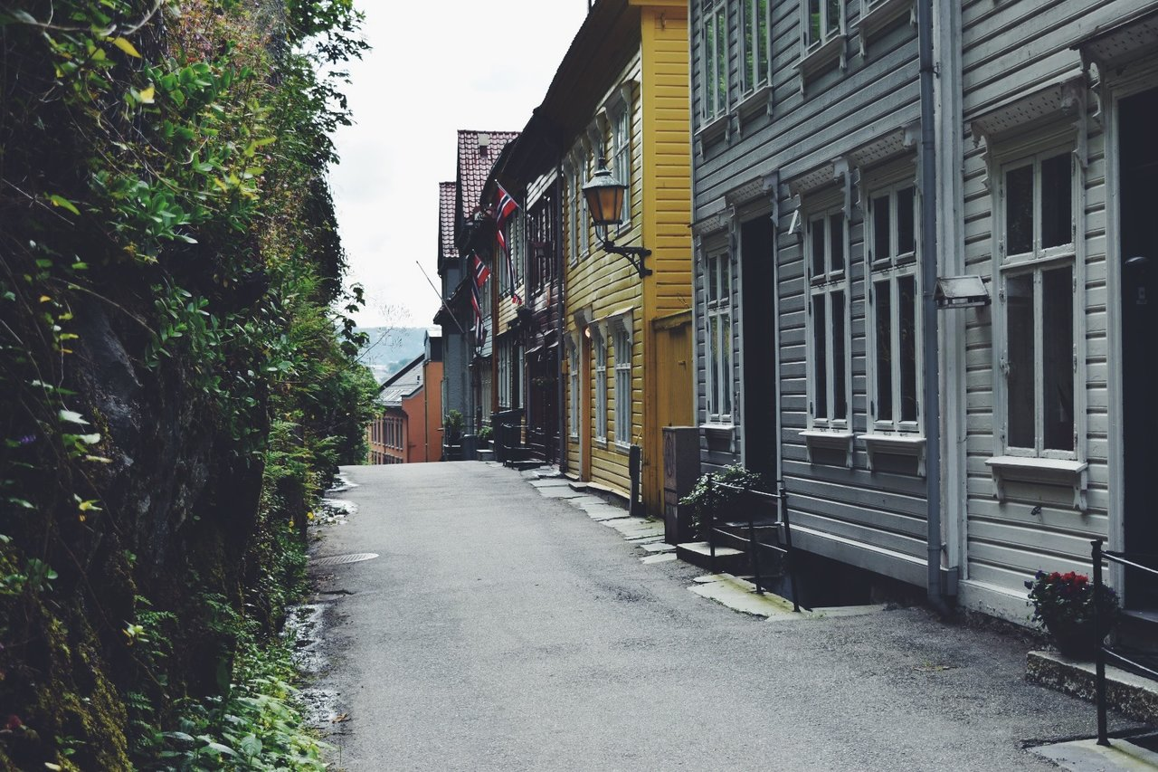 Bergen streets | Photo taken by Michael W