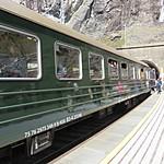 Flåm train | Photo taken by Lindsay M