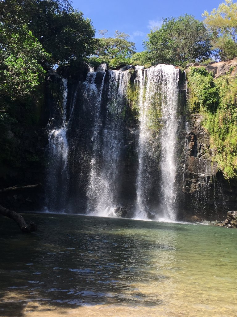 Llanos de Cortez Waterfall | Photo taken by Rachel H