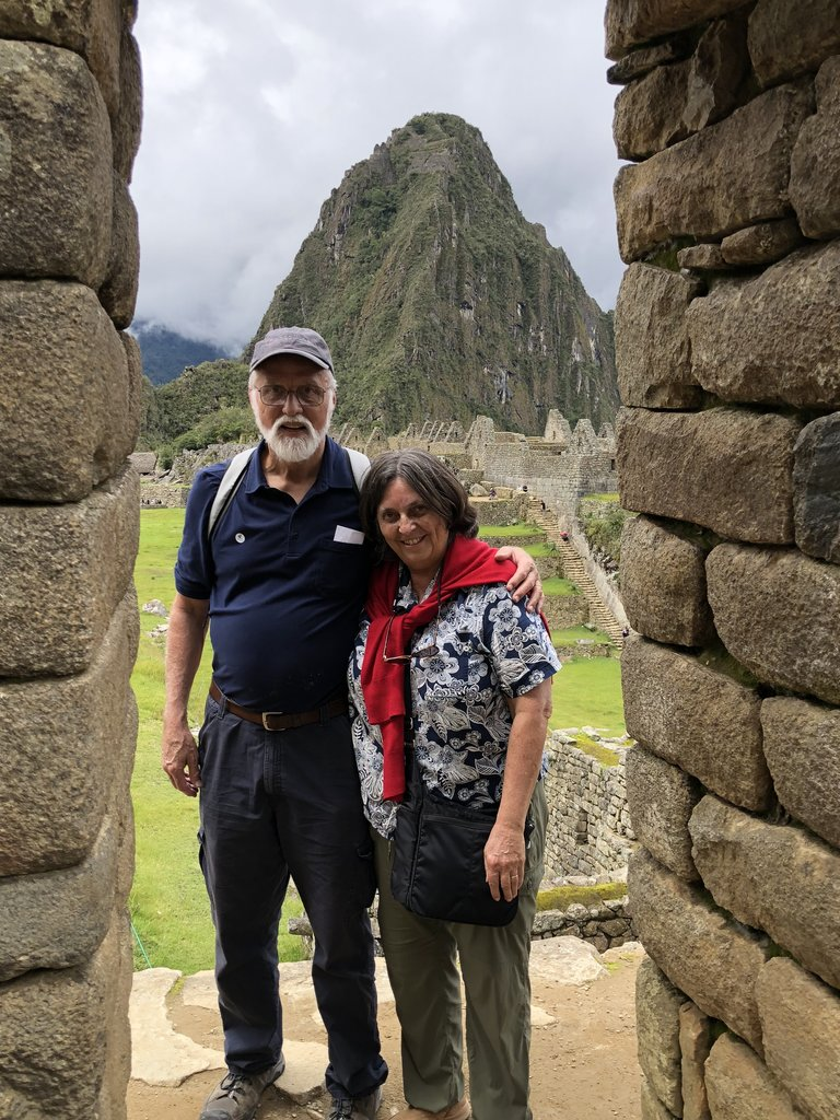 Christmas Day on Machu Picchu | Photo taken by Susan D