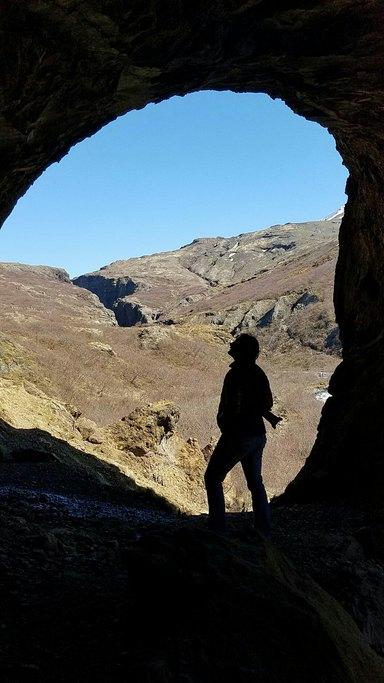 Glymur falls trail | Photo taken by Patrick M