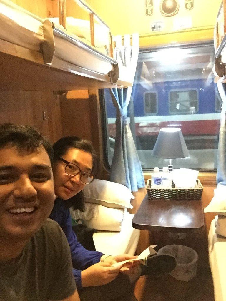 Train to Sapa | Photo taken by Seng Aung S