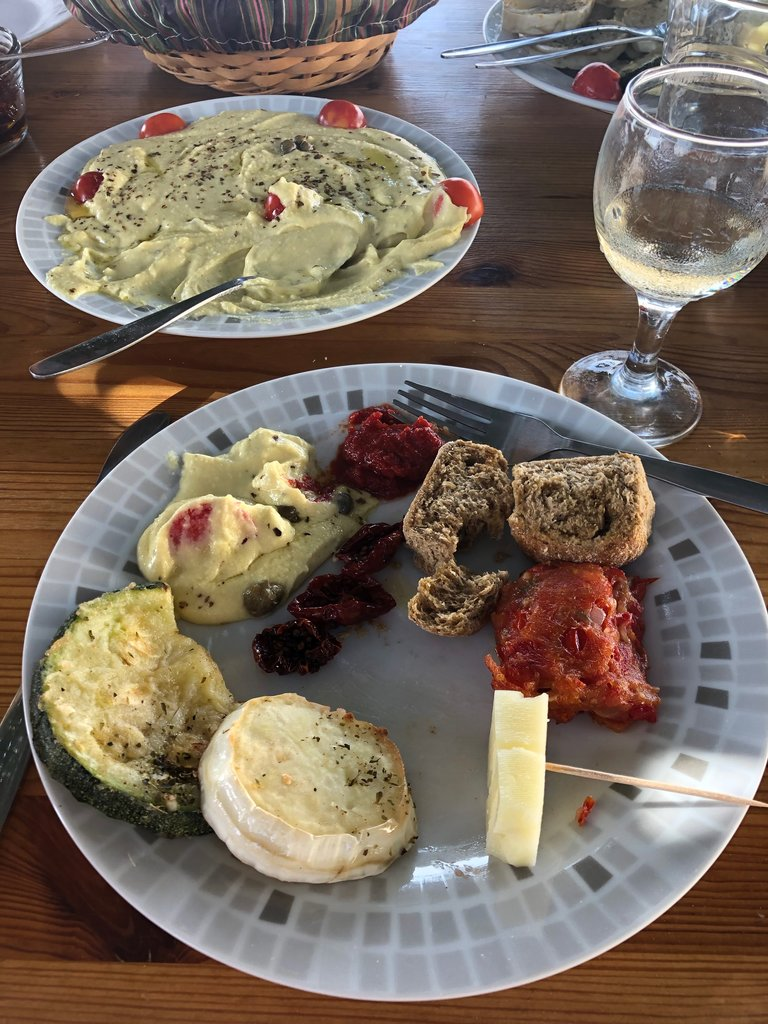 The feast! | Photo taken by Rebecca R