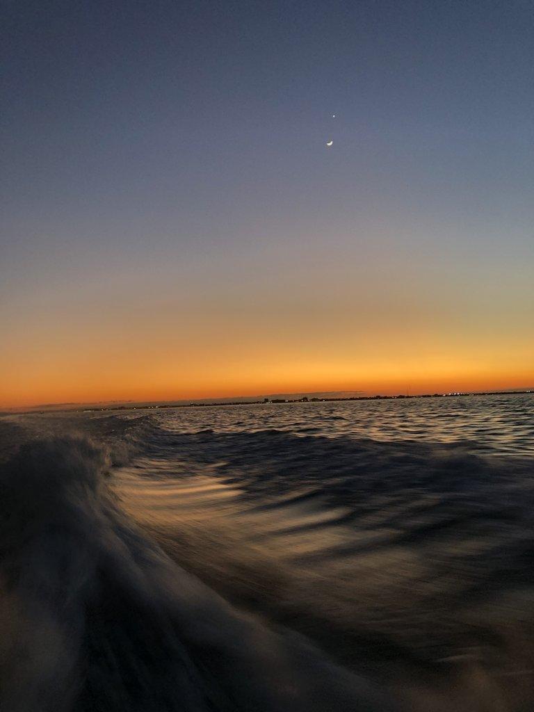 Sunset in Belize | Photo taken by BRAD K