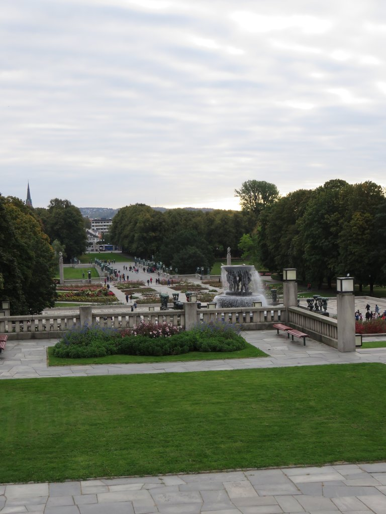 Vigeland Sculpture Park | Photo taken by Mary K