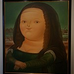 mona lisa | Photo taken by Janice B