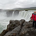 Godafoss, Waterfall of the Gods | Photo taken by Otto S