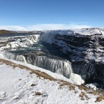 Gullfoss Waterfall  | Photo taken by Karen S