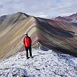 Rainbow Mountain | Photo taken by Angela I
