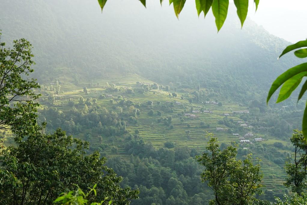 Green mountains | Photo taken by Maria S
