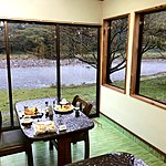 Great views from our breakfast table | Photo taken by Joost S