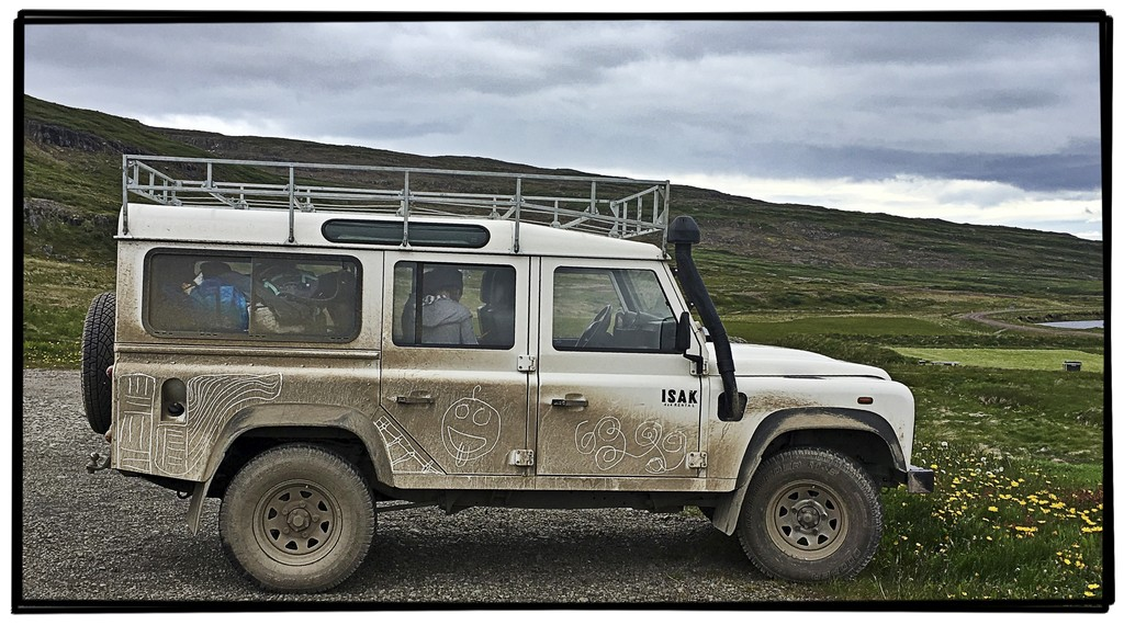 Our Defender after a week ;-) | Photo taken by Gail D