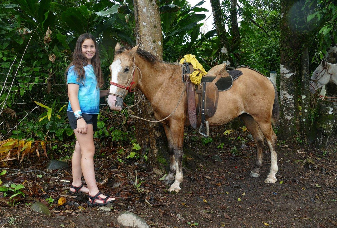 Monteverde Horseback Riding | Photo taken by Laura M