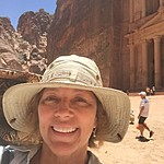 At the Treasury, Petra | Photo taken by Mia F