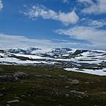 Hardangerjøkulen glacier | Photo taken by Roberta R