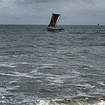 Morning walk along Negombo beach | Photo taken by Marie D