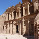 Wonderful Petra - after some rewarding hiking | Photo taken by Dominic M