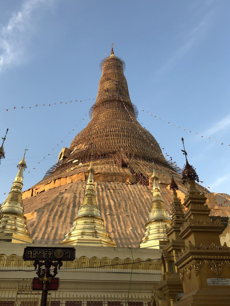 Goodbye Swedagon Pagoda | Photo taken by Gregory R