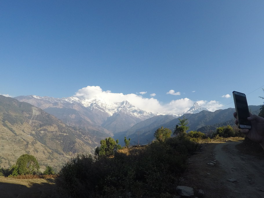 Himalayan view | Photo taken by Margaret Y