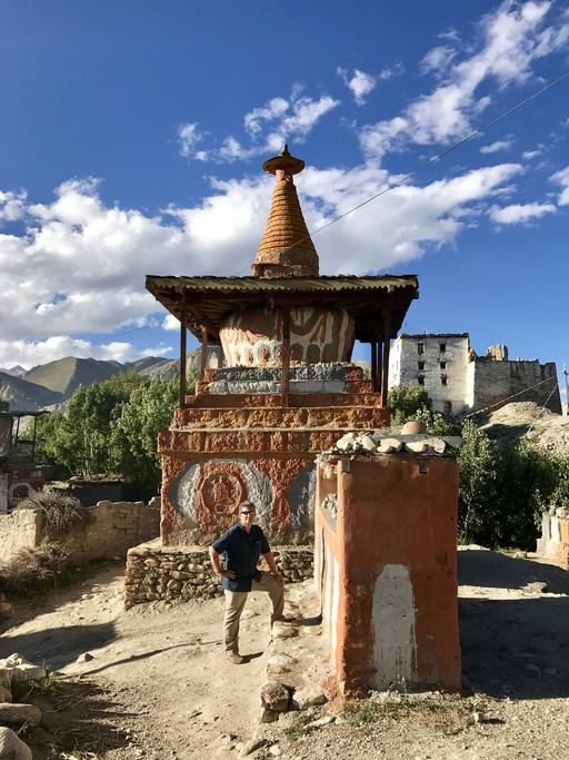 Charang chorten  | Photo taken by Lisa D