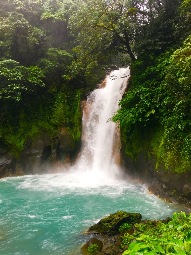 Rio Celeste | Photo taken by Rachel H