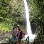 La Fortuna Waterfall | Photo taken by Rachel H