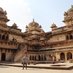 Raj Mandir, Orchha | Photo taken by Ivan T