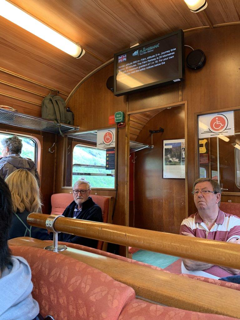 Flåm Rail | Photo taken by Jessica H