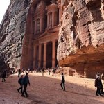 The treasury at Petra  | Photo taken by Rob G