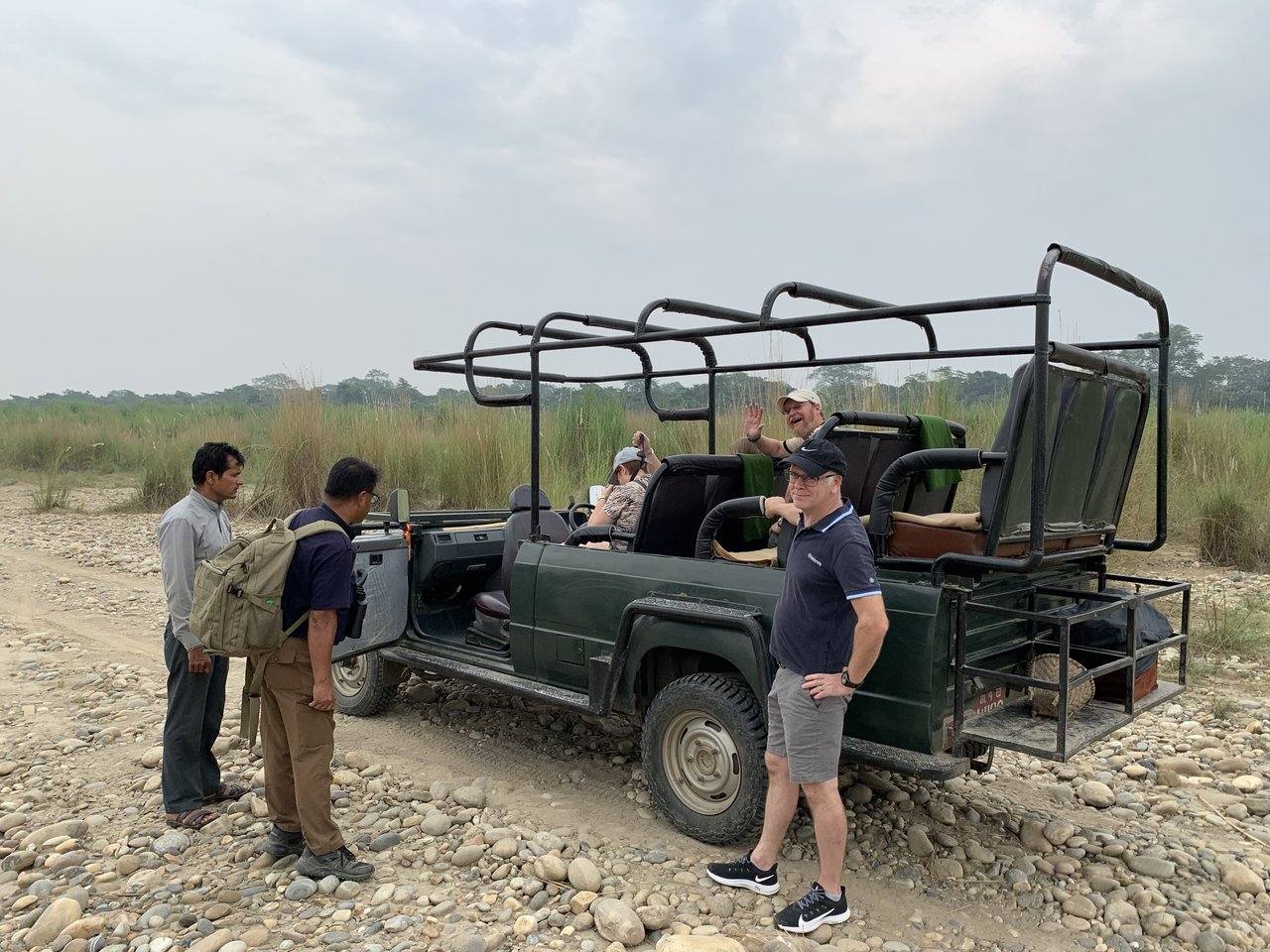 Jeep safari with Hari   Photo taken by Caroline R