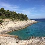 The hike up the coast back to Hvar | Photo taken by Jennifer F