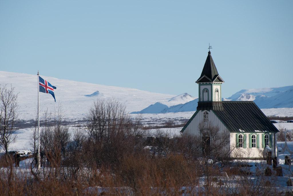 Thingveller Church | Photo taken by Kristin C