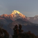 Sunrise from Ghandruk | Photo taken by Gerard D