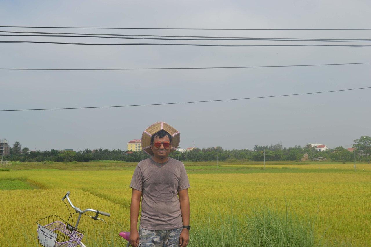 Me feeling peaceful  | Photo taken by Seng Aung S