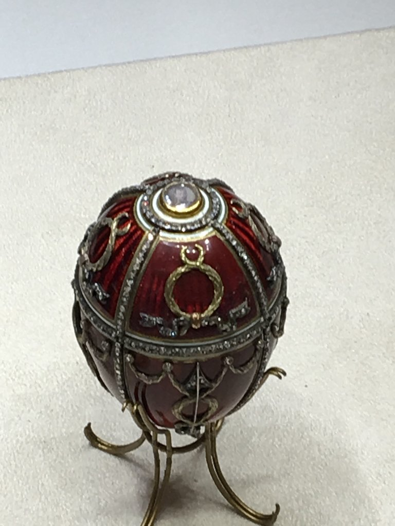 Beautiful Faberge egg | Photo taken by Diane P